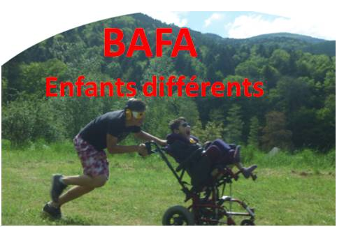 BAFA ENfants differents