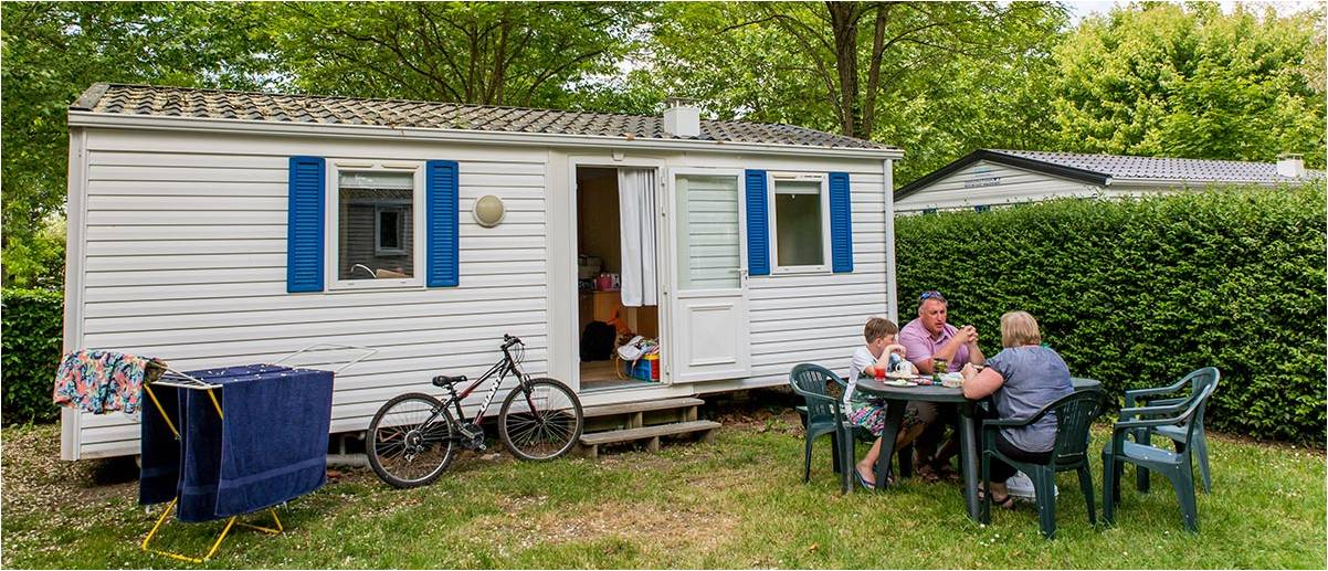 Un mobile-home au Pas Opton en Vendée